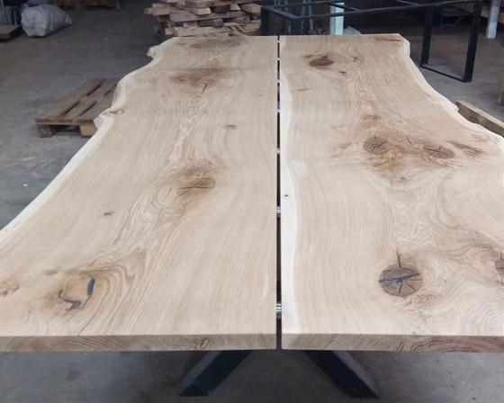 Atypické dubové desky a spárovky